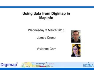 Using data from Digimap in MapInfo