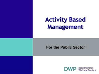 For the Public Sector