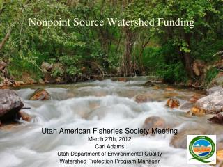 Nonpoint Source Watershed Funding