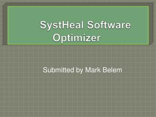 Systheal System Security Software