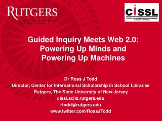 Guided Inquiry Meets Web 2.0: Powering Up Minds and Powering Up Machines