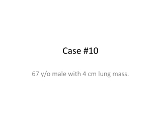Case #10