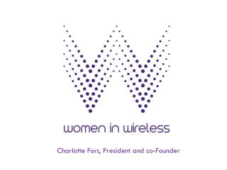 Charlotte Fors, President and co-Founder