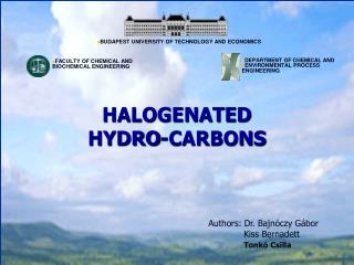 HALOGENATED  HYDRO-CARBONS