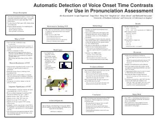 Automatic Detection of Voice Onset Time Contrasts  For Use in Pronunciation Assessment