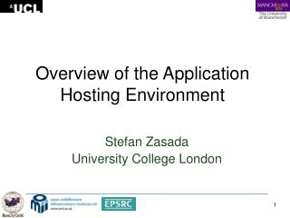 Overview of the Application Hosting Environment
