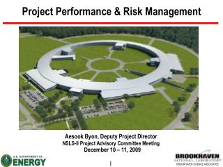 Project Performance  Risk Management