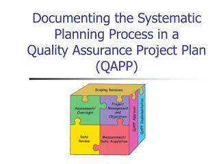 Documenting the Systematic Planning Process in a  Quality Assurance Project Plan (QAPP)