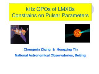 kHz QPOs of LMXBs Constrains on Pulsar Parameters