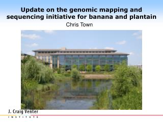 Update on the genomic mapping and sequencing initiative for banana and plantain