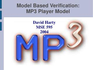 Model Based Verification: MP3 Player Model
