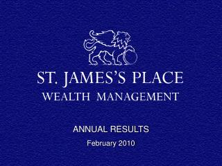 ANNUAL RESULTS  February 2010