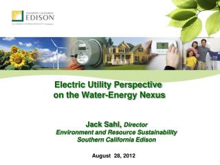 Electric Utility Perspective  on the Water-Energy Nexus