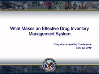 What Makes an Effective Drug Inventory Management System