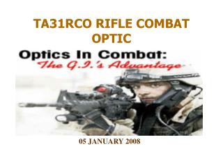 TA31RCO RIFLE COMBAT OPTIC