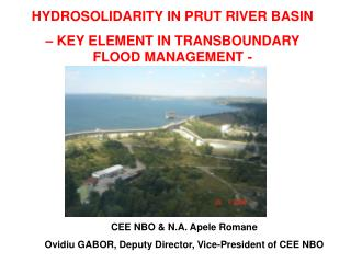 HYDROSOLIDARITY IN PRUT RIVER BASIN – KEY ELEMENT IN TRANSBOUNDARY FLOOD MANAGEMENT -