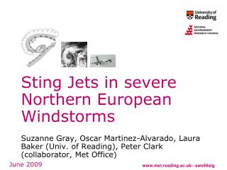 Sting Jets in severe Northern European Windstorms