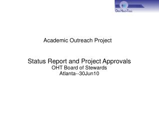 Academic Outreach Project
