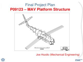 Final Project Plan P09123 – MAV Platform Structure