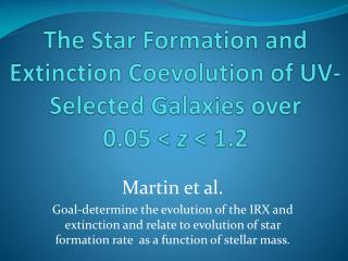 The Star Formation and Extinction  Coevolution  of UV-Selected Galaxies over 0.05 <  z  < 1.2