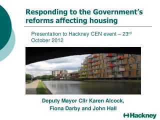 Responding to the Government's reforms affecting housing