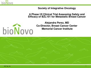 Society of Integrative Oncology