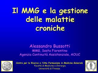 Il MMG e la gestione delle malattie croniche