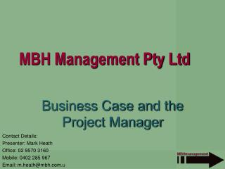 MBH Management Pty Ltd