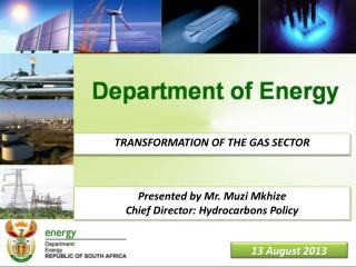 TRANSFORMATION OF THE GAS SECTOR