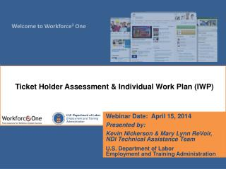 Webinar Date:  April 15, 2014 Presented by: