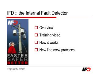 IFD :: the Internal Fault Detector