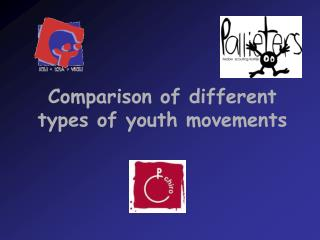 Comparison of different types of youth movements