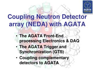 Coupling Neutron Detector array (NEDA) with AGATA