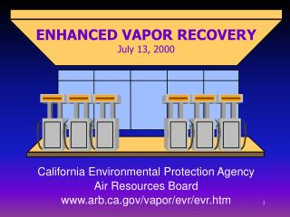 ENHANCED VAPOR RECOVERY July 13, 2000