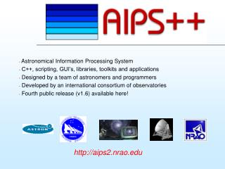 Astronomical Information Processing System
