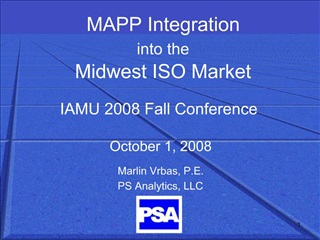 IAMU 2008 Fall Conference