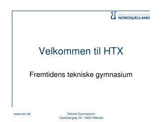Velkommen til HTX