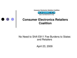 Consumer Electronics Retailers Coalition
