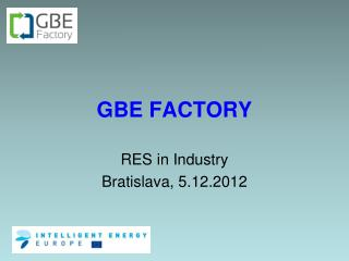GBE FACTORY