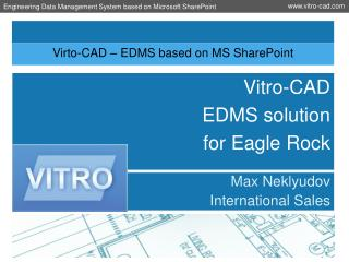 Virto-CAD – EDMS based on MS SharePoint