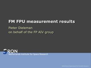 FM FPU measurement results