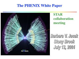 The PHENIX White Paper