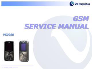 GSM SERVICE MANUAL