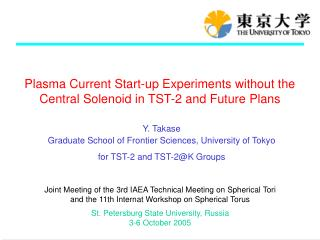 Plasma Current Start-up Experiments without the Central Solenoid in TST-2 and Future Plans