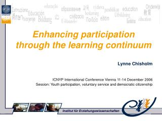 Enhancing participation through the learning continuum