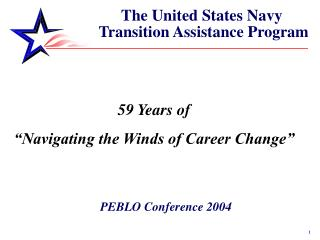 The United States Navy  Transition Assistance Program