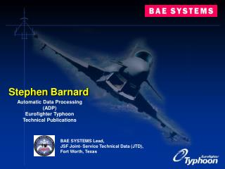 Automatic Data Processing (ADP) Eurofighter Typhoon Technical Publications