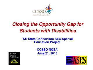 Closing the Opportunity Gap for Students with Disabilities