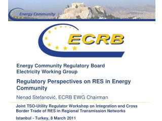 Energy Community Regulatory Board Electricity Working Group