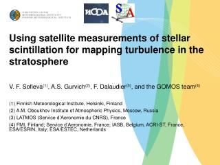 Using satellite measurements of stellar scintillation for mapping turbulence in the stratosphere